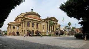 Teatro Massimo in Palermo, Italy Stock Photos
