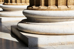 Teatro Massimo, Palermo, neoklasyczny styl Fotografia Royalty Free