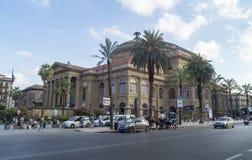 Teatro massimo palermo Stock Photo