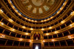 Teatro Massimo, Palermo, Włochy zdjęcia royalty free