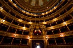 Teatro Massimo, Palermo, Włochy obraz stock