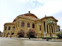 Teatro Massimo, Palermo, Włochy fotografia stock