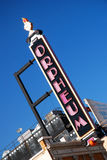 Teatro Minneapolis de Orpheum Foto de archivo libre de regalías