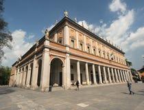 Teatro Municipale Valli, Reggio Emilia, Emilia Romagna, Itália Fotografia de Stock