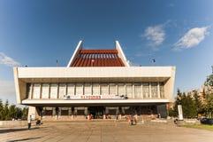 Teatro musical de Omsk imagem de stock royalty free