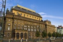 Teatro nacional Imagem de Stock