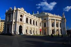 Teatro nacional austríaco, Viena fotos de archivo libres de regalías