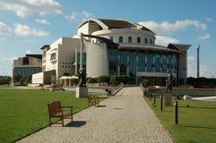 Teatro nacional - Budapest Foto de archivo libre de regalías