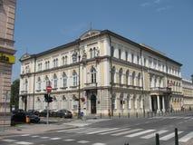 Teatro nacional croata fotos de archivo