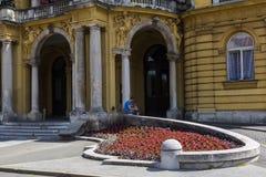 Teatro nacional croata Fotografia de Stock