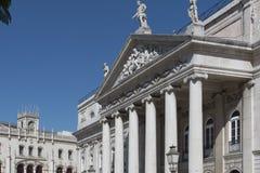 Teatro Nacional D. Maria II Stock Photos