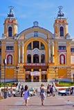 Teatro nacional de Cluj-Napoca, Rumania Foto de archivo