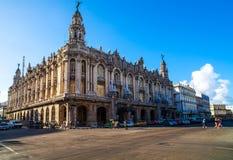 Teatro nacional de Cuba em Havana Imagens de Stock Royalty Free
