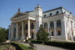 Teatro nacional de Iasi (Roménia) Foto de Stock Royalty Free
