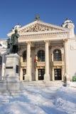 Teatro nacional de Iasi (Roménia) Fotografia de Stock