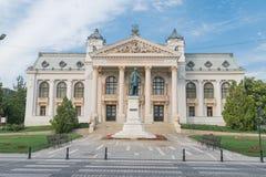 Teatro nacional de Iasi, Romênia imagem de stock royalty free