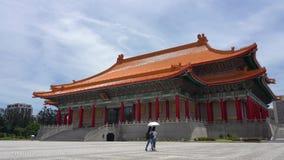 Teatro nacional de Taiwán en Taipei almacen de metraje de vídeo