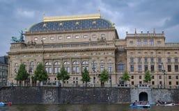 Teatro nacional em Praga Imagens de Stock Royalty Free