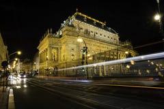 Teatro nacional em Praga Foto de Stock