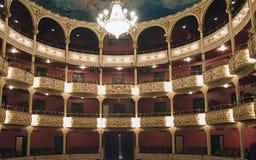 Teatro nacional en la república Panamá Foto de archivo