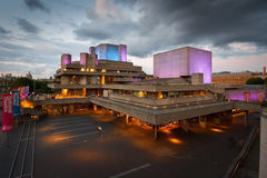 Teatro nacional en Londres. Fotografía de archivo libre de regalías