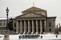 Teatro nacional en Munich Foto de archivo libre de regalías