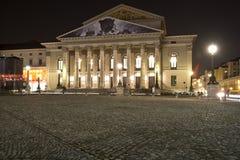 Teatro nacional en Munich, Alemania foto de archivo