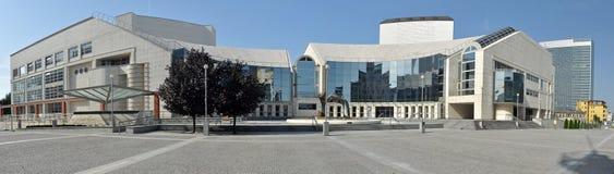 Teatro nacional eslovaco Foto de archivo