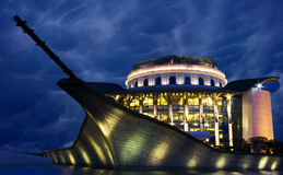 Teatro nacional húngaro Imagens de Stock