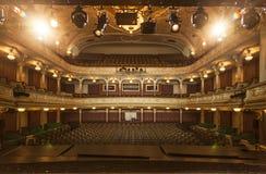 Teatro nacional ir Riga Fotos de archivo