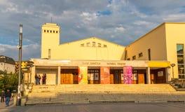 Teatro nacional Pristina fotos de stock