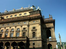 Teatro nazionale Fotografie Stock