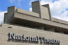 Teatro nazionale Fotografie Stock Libere da Diritti