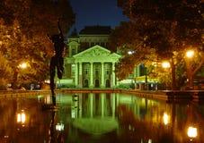 Teatro nazionale della Bulgaria Fotografia Stock