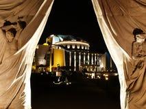Teatro nazionale di Budapest fotografia stock libera da diritti