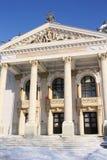 Teatro nazionale di Iasi (Romania) Fotografie Stock Libere da Diritti