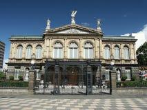 Teatro nazionale di Rican della Costa immagine stock