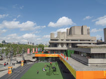 Teatro nazionale Londra immagine stock libera da diritti