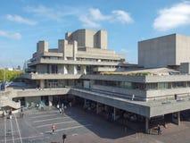 Teatro nazionale Londra immagini stock libere da diritti