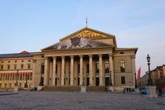 Teatro nazionale a Monaco di Baviera, Germania fotografie stock libere da diritti