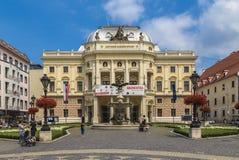 Teatro nazionale slovacco Fotografia Stock Libera da Diritti
