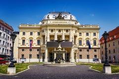 Teatro nazionale slovacco, Bratislava, Slovacchia Immagini Stock