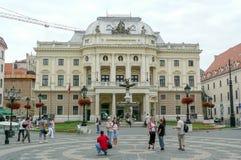 Teatro nazionale slovacco di opera, Bratislava Fotografia Stock Libera da Diritti