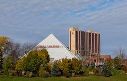 Teatro Niagara Falls de IMAX Foto de archivo