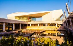 Teatro novo de marco-Shanxi da cultura de Taiyuan grande Fotos de Stock Royalty Free