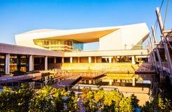 Teatro novo de marco-Shanxi da cultura de Taiyuan grande Imagens de Stock