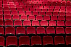 Teatro o teatro listo para la demostración Fotos de archivo libres de regalías