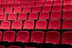 Teatro o teatro pronto per l'esposizione fotografie stock