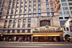 Teatro oriental en Chicago fotografía de archivo