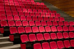 Teatro ou teatro pronto para a mostra Foto de Stock Royalty Free